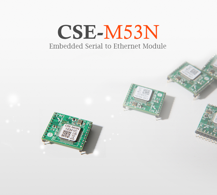serial uart to ethernet tcp ip module cse m53n